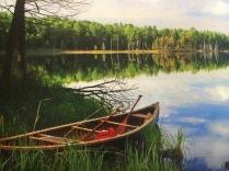 Shorline canoe
