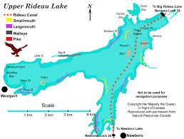Upper Rideau map