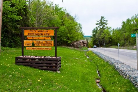 Foley mountain sign