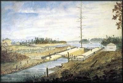 Newboro lock 18th century