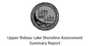 Shoreline assesment report logo