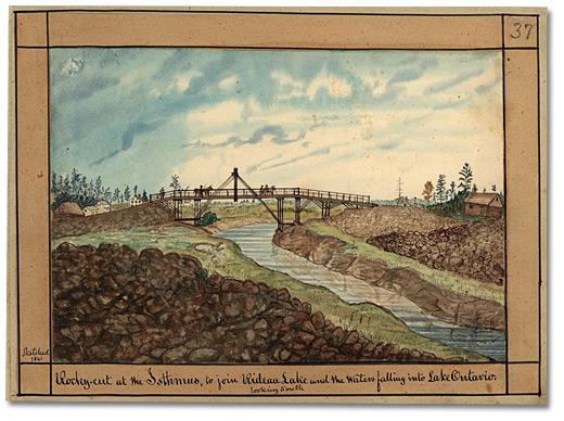 Birth of Upper Rideau Lake