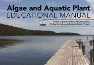 Algae education manual