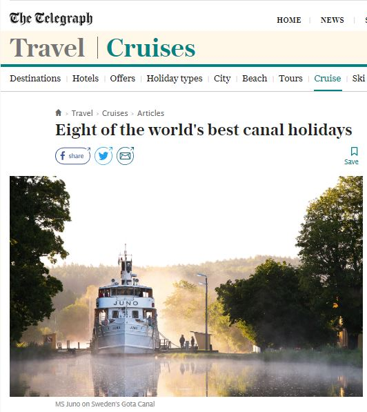 Eight of the world's best canal holidays