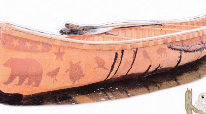 Friends of Murphy's Point birch-bark canoe raffle