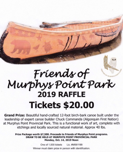 Birch Bark Murphys Point Raffle